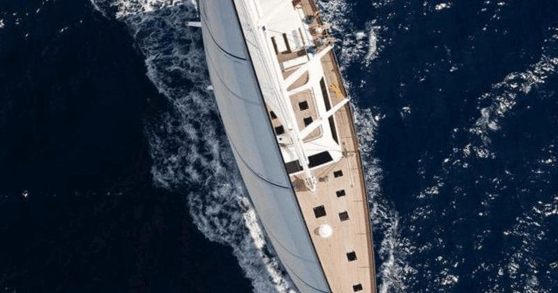 superyacht nautor's swan anemos